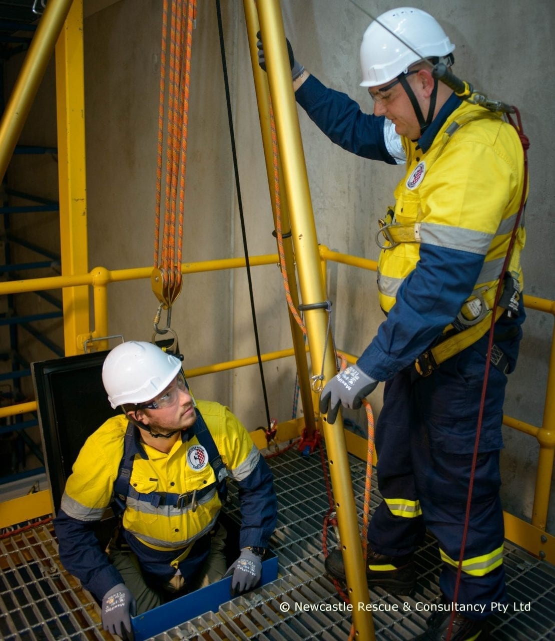 Confined Space Standby And Rescue Services Newcastle