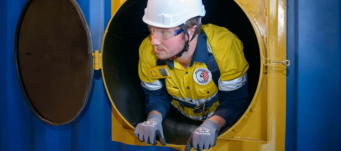 Confined Space 1 Day Training Newcastle Rescue